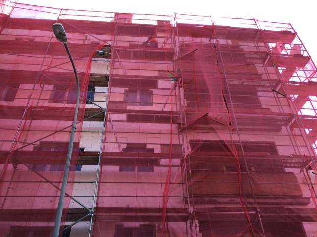 Rekonstrukce a zateplování fasád Brno - zateplení fasády bytového domu Brno - Žabovřesky