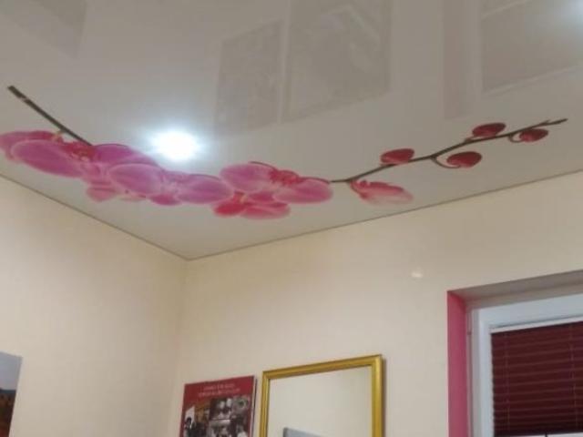 Napínané foliové stropy